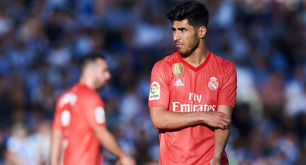Marco Asensio - Real Madrid - lesión en el tobillo. (Agencias)