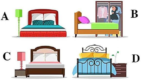"""""""¿En qué cama dormirías?"""", el nuevo test que revela detalles sobre tu estilo de vida y que no ha tardado en volverse tendencia. (Foto: Radio Mitre)"""