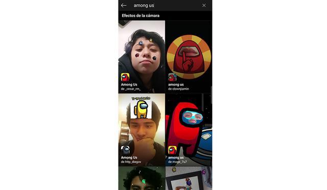 ¿Quieres tener el filtro de Among Us en tu WhatsApp? De esta forma podrás elegirlo. (Foto: Instagram)