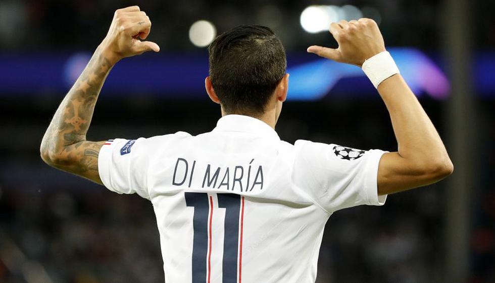 Di María lidera el equipo ideal de la primera semana de la Champions League 2019-20.(Foto: AFP)