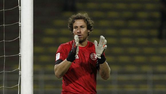 Salomón Libman es futbolista de UTC desde inicios de la temporada 2020. (Foto: Leandro Britto)