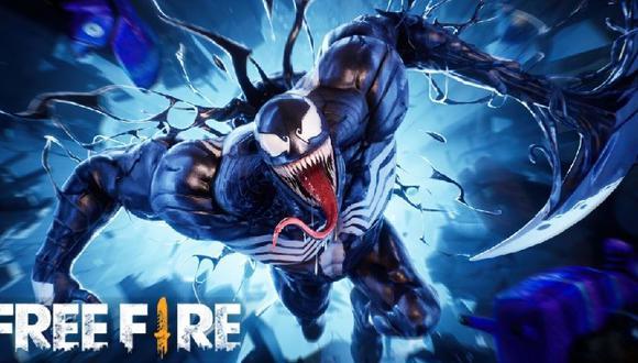 Garena anunca colaboración de Free Fire con Venom 2