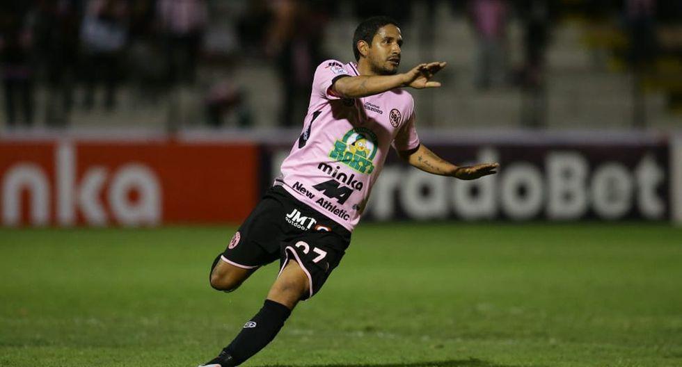 Reimond Manco marcó un golazo en la victoria de Sport Boys ante Melgar en el Callao. (Foto: Jesús Saucedo)