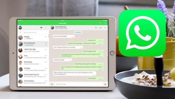 ¡De esta forma podrás usar WhatsApp en tu iPad! Conoce el único método legal. (Foto: Mockup)