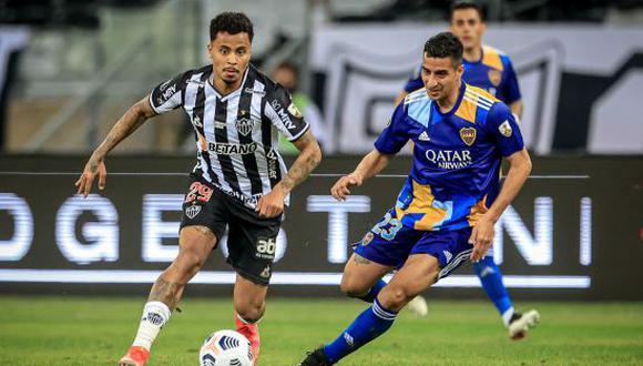 Boca Juniors fue eliminado por Atlético Mineiro en los octavos de final de la Copa Libertadores 2021. (Foto: Getty Images)