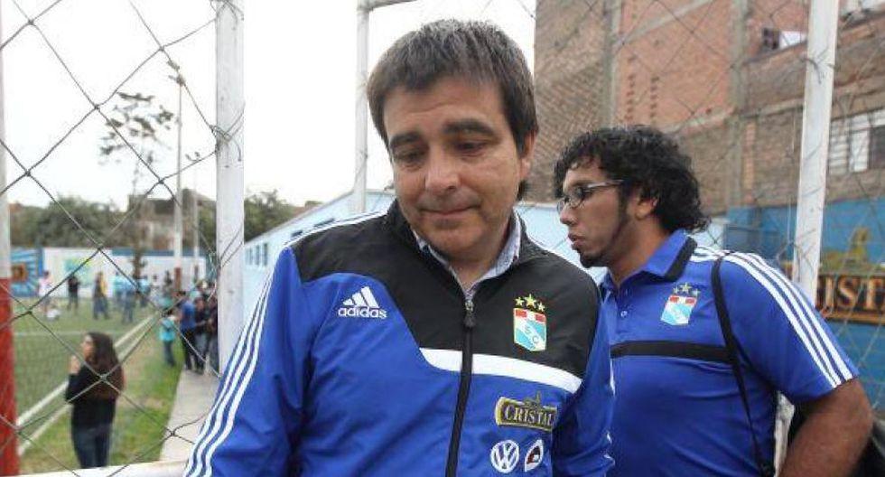 Sporting Cristal ya tiene nuevo técnico.