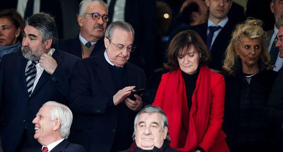 Florentino sigue buscando fichajes para el mercado de pases. (Foto: Getty)