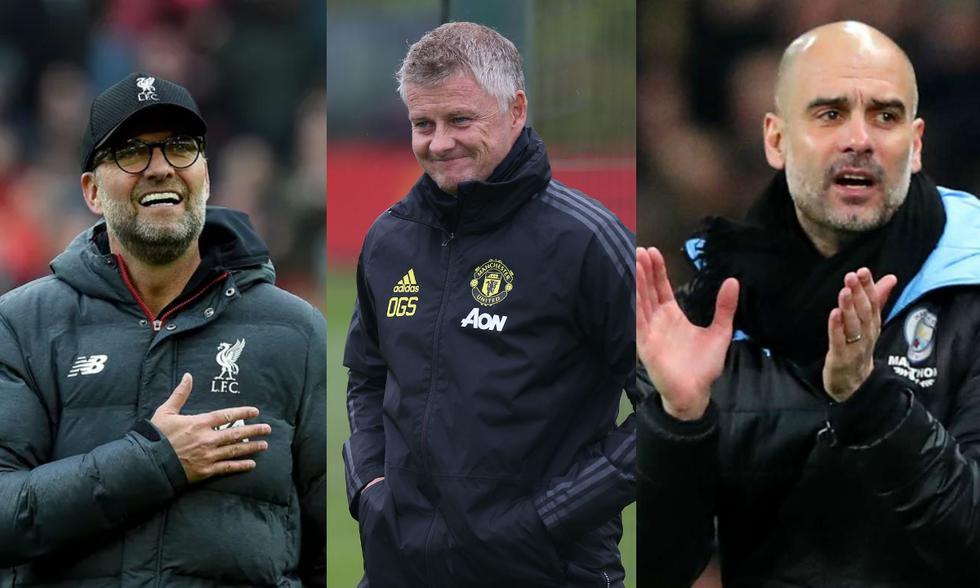 Los mejores entrenadores de la Premier League en el 2020