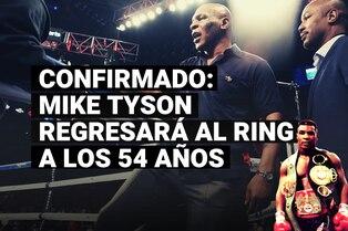 Mike Tyson volverá al ring en septiembre y se confirma quién será su rival
