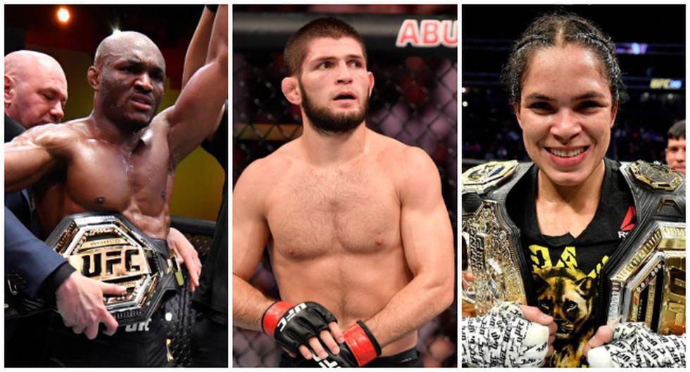 Los peleadores con más victorias consecutivas en UFC. (UFC/Zuffa LC/Twitter)