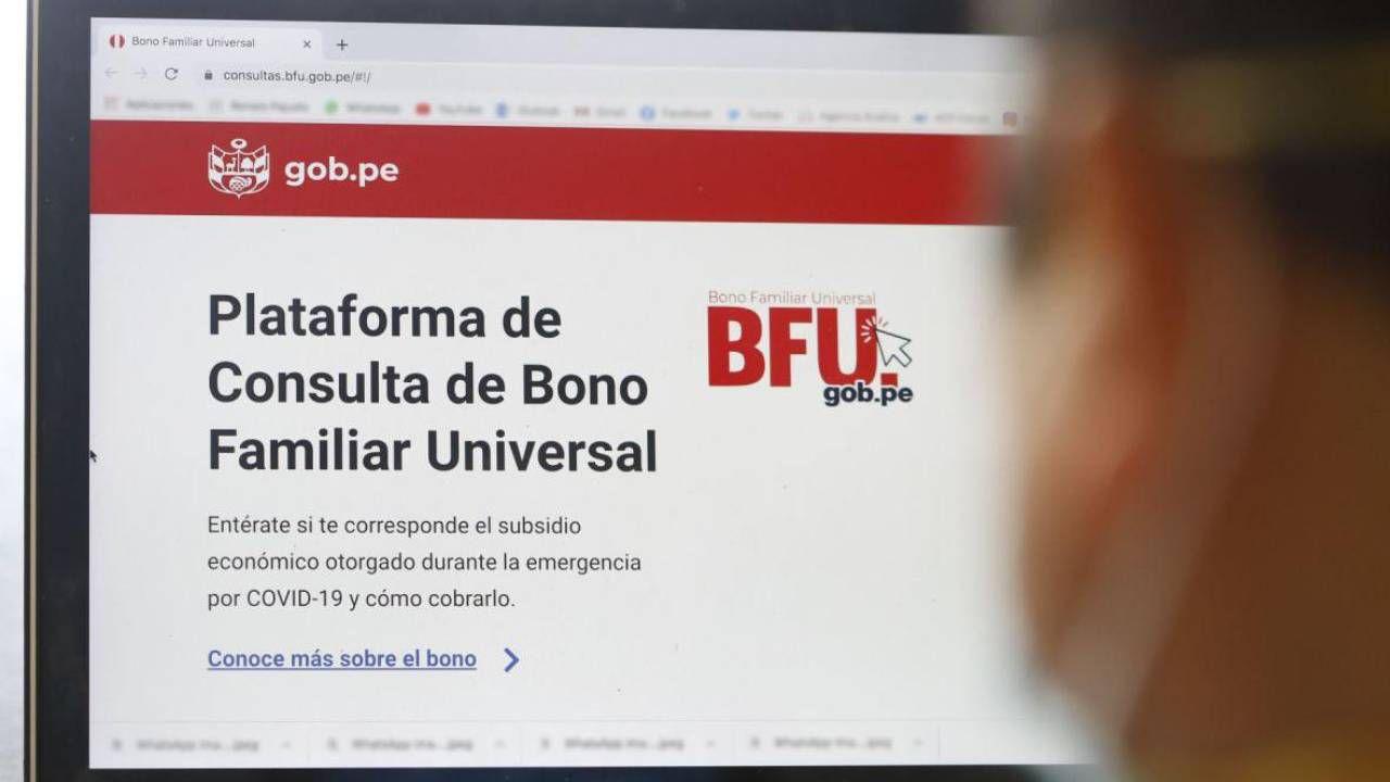 La Fase 3 para la entrega del Segundo Bono Familiar Universal bajo la modalidad de Banca Celular iniciará el próximo 20 de noviembre (Foto: Andina)
