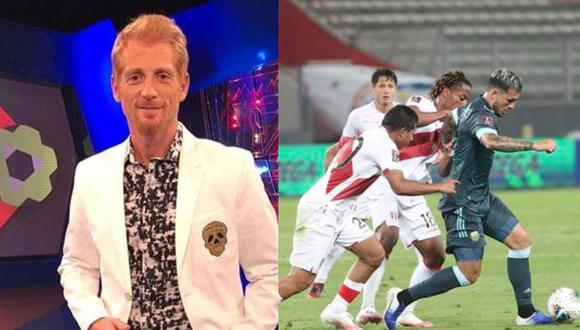Martín Liberman se mostró sorprendido por el rendimiento de Perú.