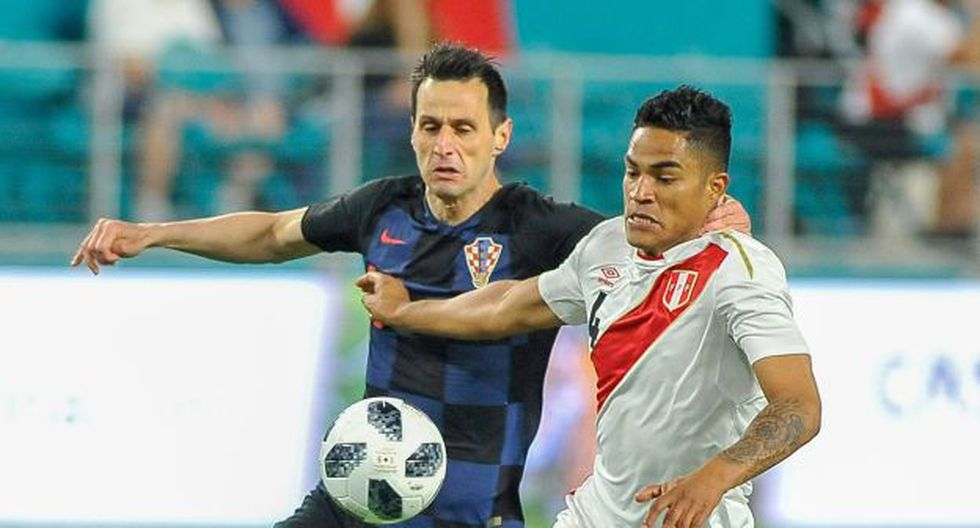 Ante Croacia, Santamaría jugó su primer partido como titular en la Selección. (Foto: AFP)