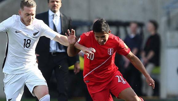 Edison Flores hizo autocrítica al juego mostrado por la Selección Peruana ante Nueva Zelanda. (Twitter Selección Peruana)