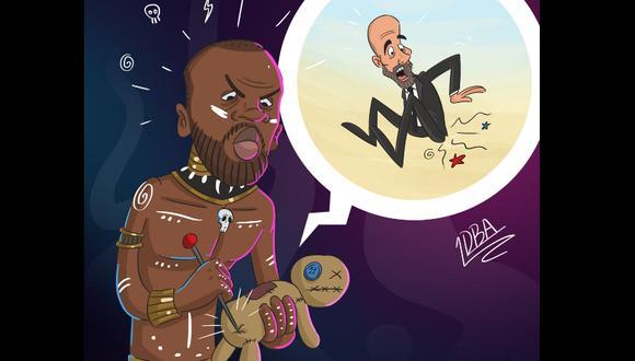 La maldición africana que pesa sobre Guardiola por parte del agente de Touré. (Foto: Twitter desporter)
