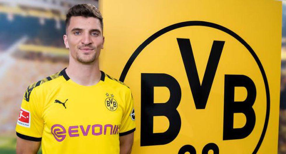 Thomas Meunier estampó su firma hasta mediados del 2024. (Foto: Borussia Dortmund)