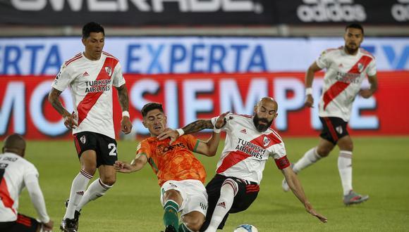 River Plate no pudo con Banfield y cayó en su estreno por la Liga Profesional.