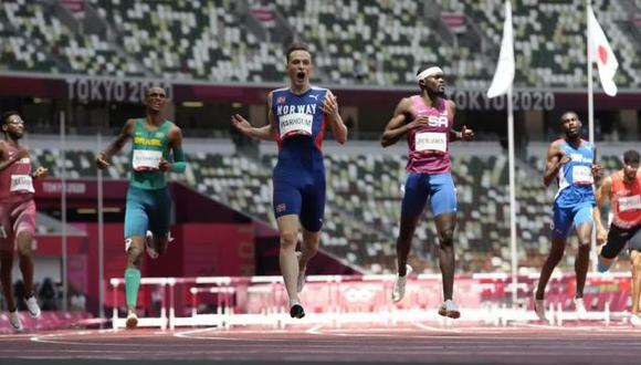Polémica por las 'súper zapatillas' que ayudarían a romper récords olímpicos. (Twitter / Tokio 2020)