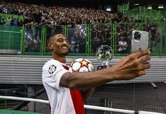 Haller iguala récord de Van Basten tras cuatro goles en su debut en Champions League [VIDEO]