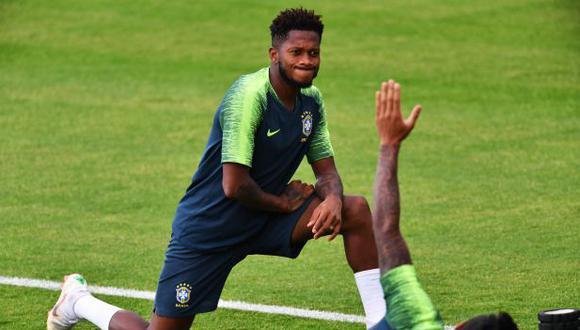 Fred tiene catorce partidos con camiseta de la selección de Brasil. (Foto: AFP)
