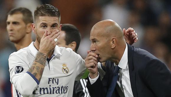 Sergio Ramos acaba contrato con el Real Madrid en junio de este año. (Foto: AP)