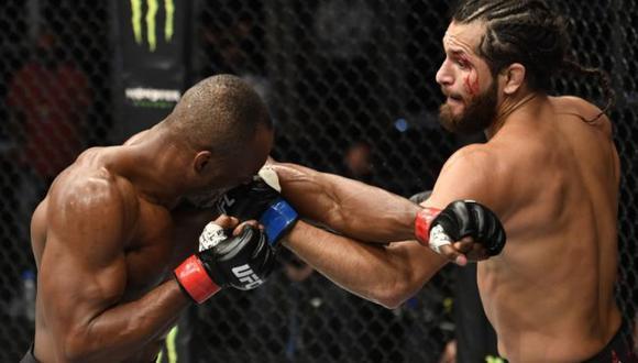 Jorge Masvidal confirmó que tendrá revancha contra Kamaru Usman por el título wélter de UFC, (Zuffa LLC)