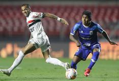 Binacional se despidió de la Libertadores: el 'Poderoso del Sur' cayó 5-1 ante Sano Paulo