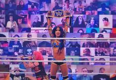 ¡Es la 'jefa' de WWE! Sasha Banks derrotó a Asuka en duelo de campeonas en Survivor Series 2020 [VIDEO]