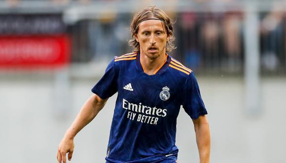 Luka Modric será baja para el duelo ante el Levante por LaLiga. (Foto: @realmadrid)