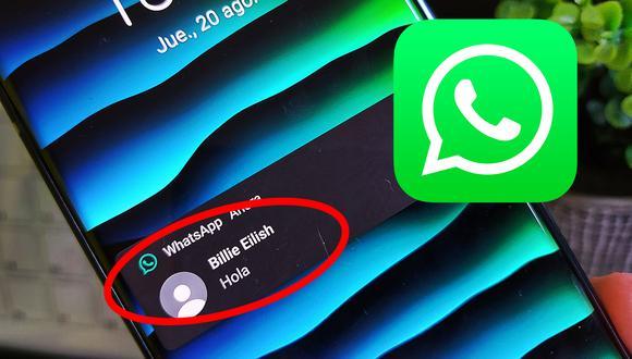 Todo se encuentra en WhatsApp y no será necesario instalar aplicaciones adicionales en tu móvil (Foto: Archivo)