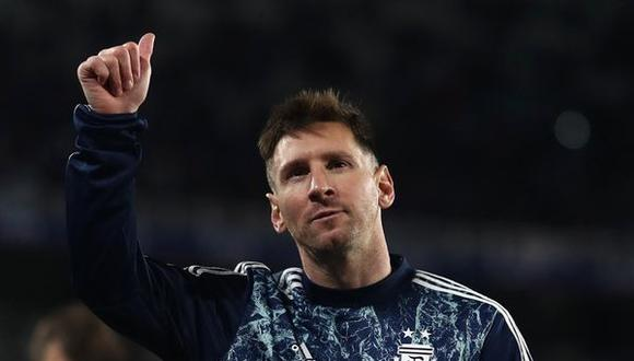 Lionel Messi superó a Pelé como máximo goleador de selecciones de Sudamérica. (Foto: AFP).