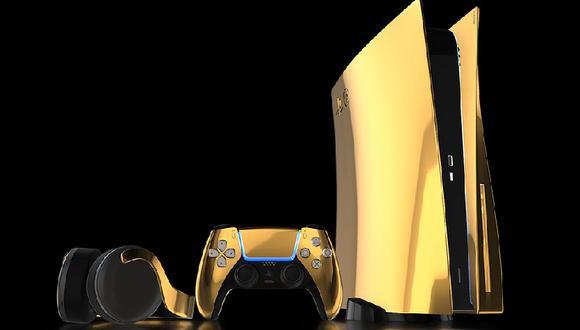 Versión dorada de la PS5 saldrá a la venta a lo largo de 2021 (Trulyexquisite)