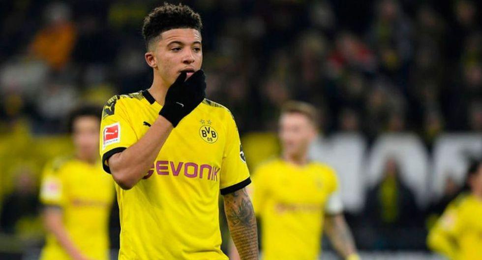 Jadon Sancho | Club: Borussia Dortmund | Valor: 120 millones de euros. (Foto: Agencias)