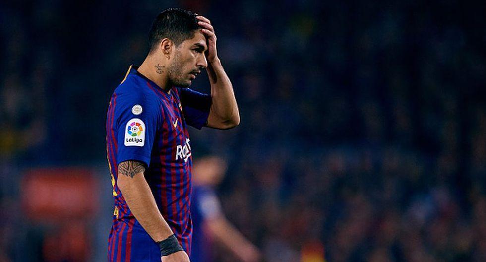 Suárez llegó al Barcelona en la temporada 2014/15. (Getty)