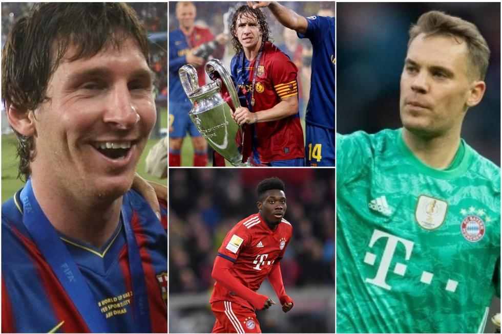 Barcelona + Bayern: un XI combinado con jugadores que ganaron los únicos sextetes de la historia.