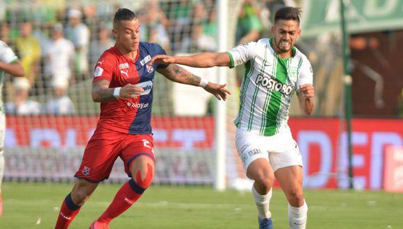Atlético Nacional e Independiente Medellín igualaron en el Atanasio Girardot. (Foto: El Deportivo)
