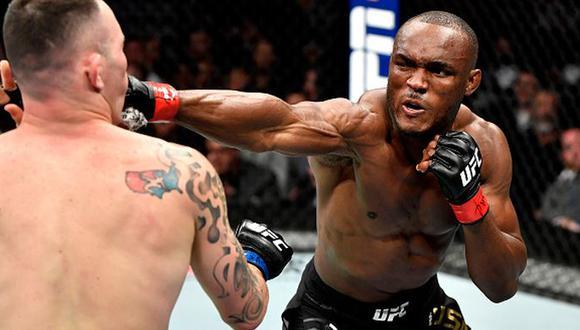 Dana White descartó que Kamaru Usman vaya a enfrentarse a Conor McGregor por el título wélter de UFC. (Getty Images)