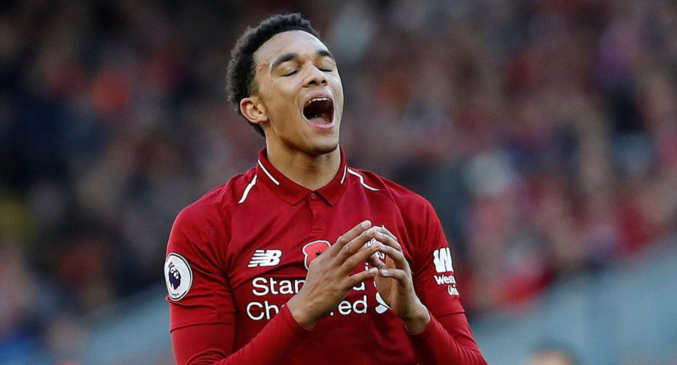 Trent Alexander-Arnold, jugador del Liverpool. (Foto: Reuters)