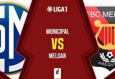 Municipal vs. Melgar EN VIVO: partido y transmisión por fecha 16 de la Fase 2