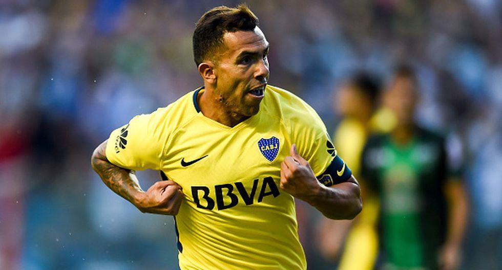 Carlos Tevez - Boca Juniors (Getty)