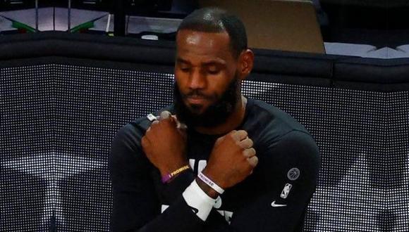LeBron James recordó a 'Black Panther' en partido de Los Ángeles Lakers. (Difusión)