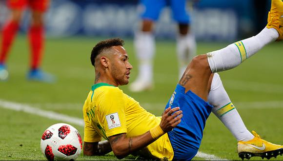 Neymar llegó a los cuartos de final con Brasil en Rusia 2018. (Getty)