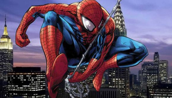 En Spider-Man : Reign, Peter Parker llora por la muerte de Mary Jane que resulta ser su culpa (Foto: Kaare Andrews)