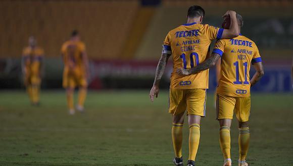 Gignac es el máximo goleador en la historia de Tigres UANL. (Getty)