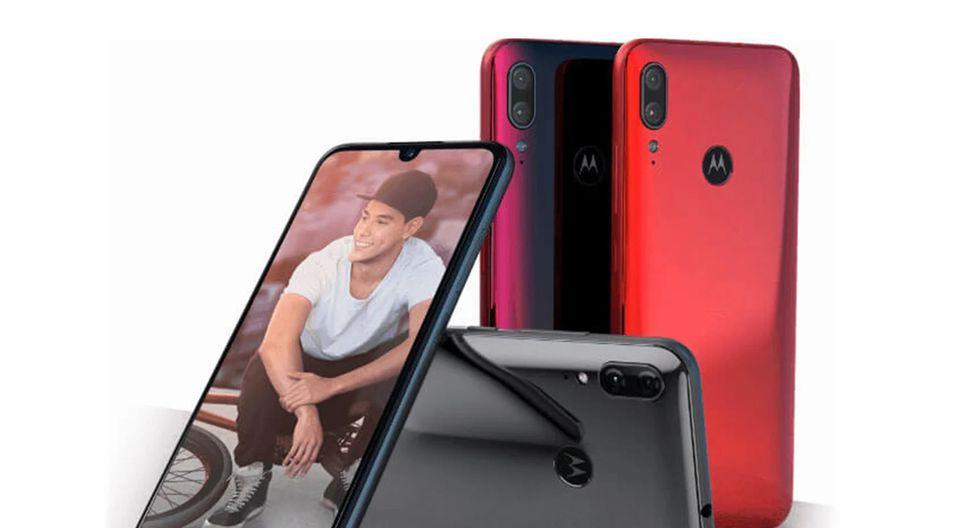 Así es el Moto E6 Plus, el dispositivo que ya se comercializa en nuestro país. (Foto: Motorola)