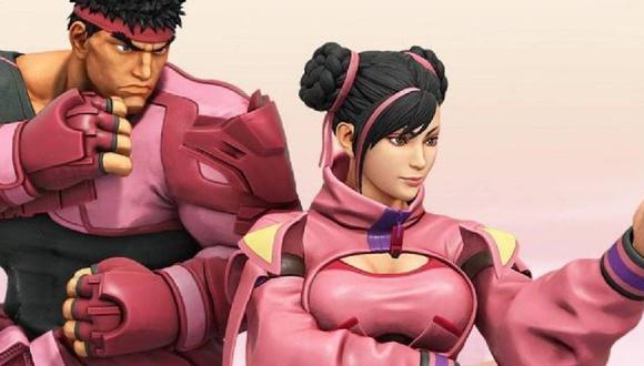 Street Fighter V revela nuevos trajes para apoyar la investigación del cáncer de mama