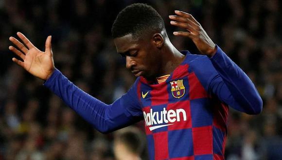 Dembélé llegó al FC Barcelona en el 2017 prodecente del Borussia Dortmund. (Foto. EFE)