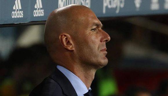 Zinedine Zidane ganó tres Champions League con el Real Madrid. (AFP)