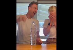 Repudio al 'Maxi' López en redes: la broma del agua y huevo que le hizo a su novia [VIDEO]