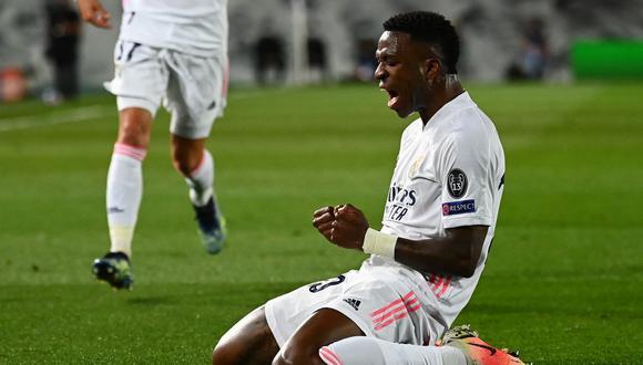 La historia de cómo Vinicius Junior llegó a Real Madrid. (Foto: AFP)